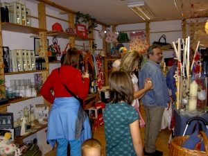 Verkaufsstart in Karins Laden