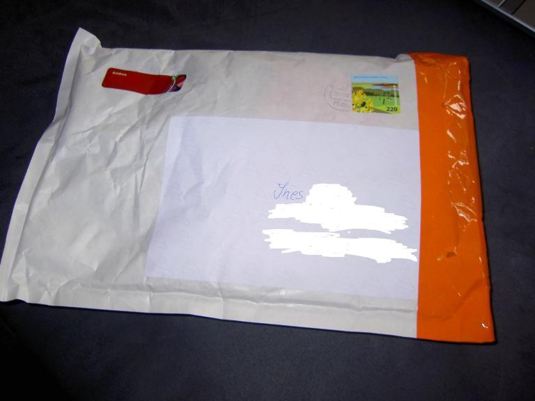 PIF-Umschlag von Andrea