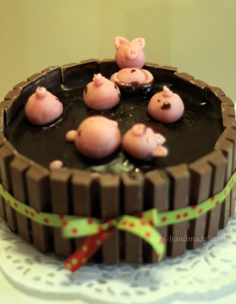Erdferkel-Torte