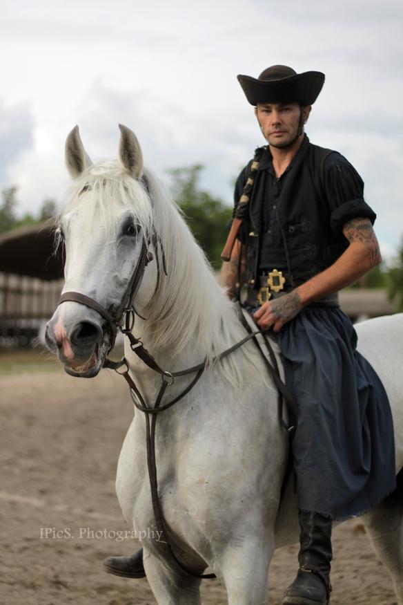 Csikós mit bildhübschem Pferd