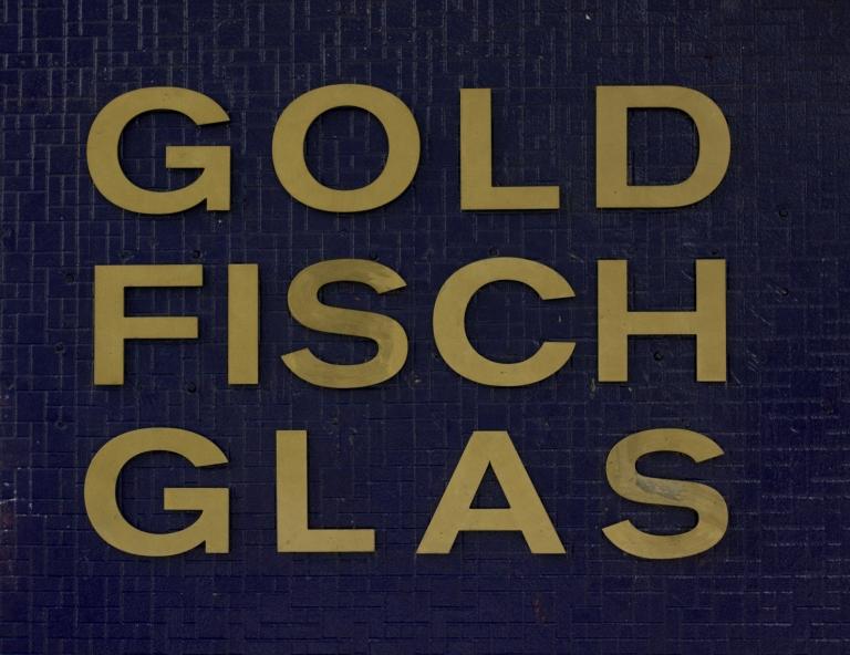 Goldfischglas